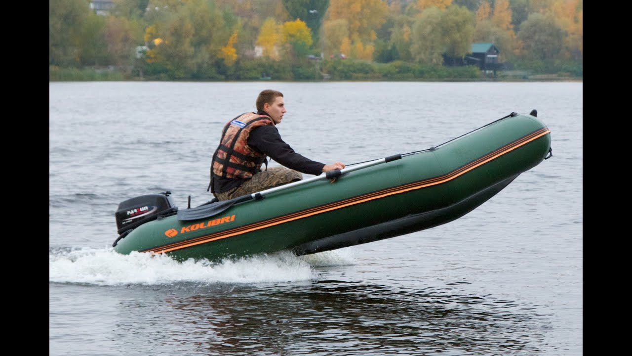 лодка колибри км 360д цена