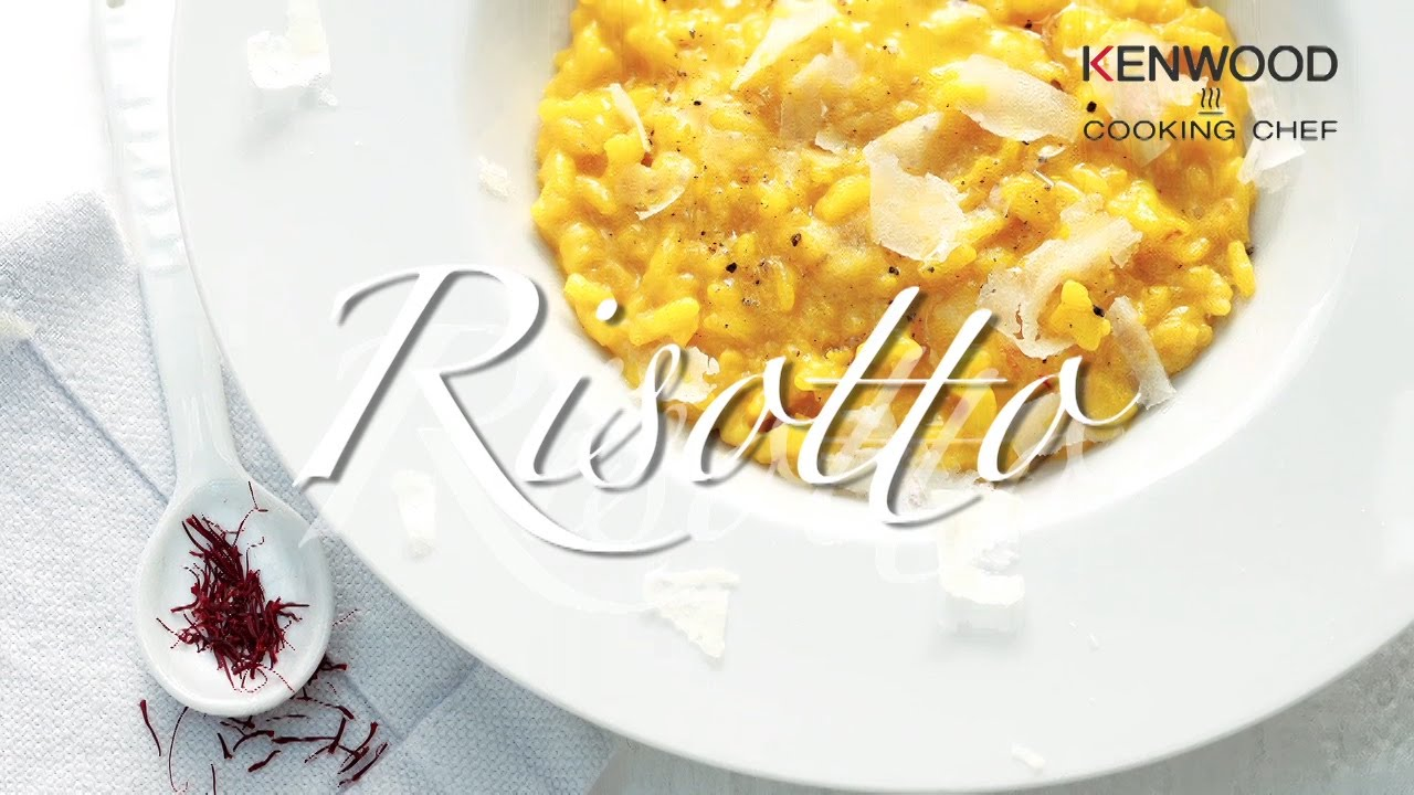 Rezept Risotto, Kenwood Cooking Chef - YouTube