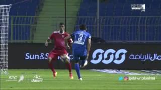 هدف الهلال الرابع ضد الوحدة (ياسر القحطاني) في الجولة 12 من دوري جميل
