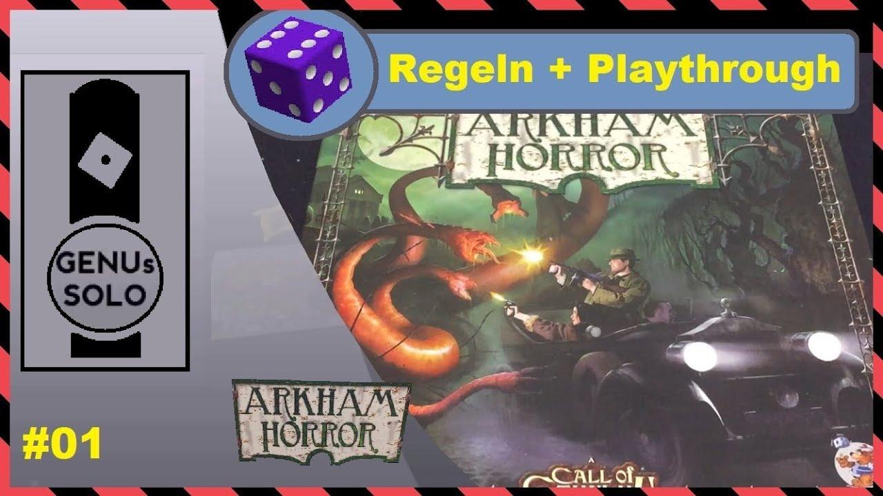 Arkham Horror Kartenspiel Regeln