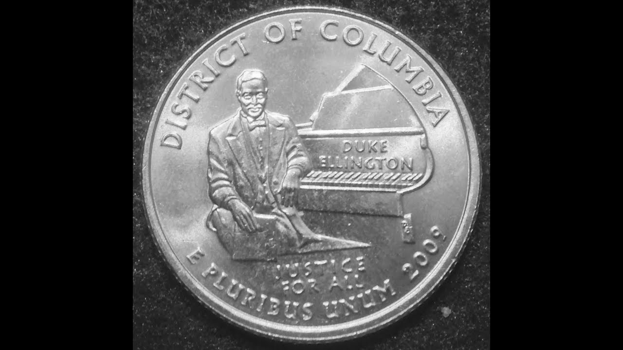 2009 D C  Quarter- 3 Known Double Die Errors To Look For