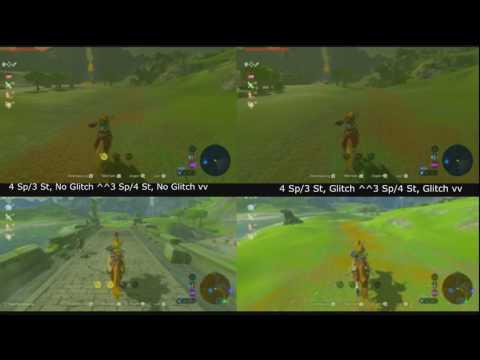 Horse Speed/Stamina Glitch Comparison