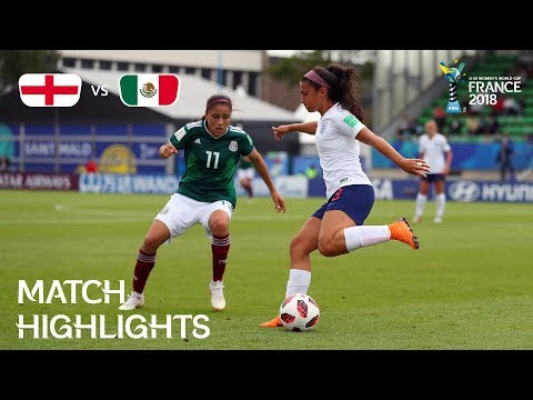 England v Mexico - FIFA U-20 Women's World Cup France 2018 - Match 20