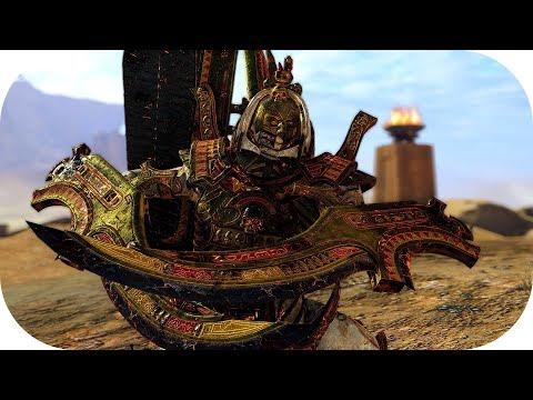 Total War Warhammer II ♦ Tomb Kings ♦ Super Rare Necrosphinx Animation