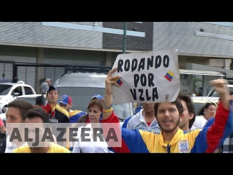 Rival protests to take over Venezuelan capital