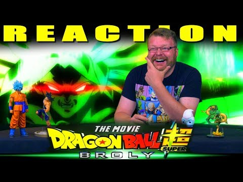 Dragon Ball Super: Broly Movie Trailer (English Dub Reveal) REACTION!!