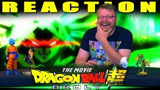 Dragon Ball Super: Broly Movie Trailer (English Dub Reveal) REACTION!!