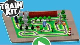 Train Kit Part 3 - iPad app demo for kids - Ellie