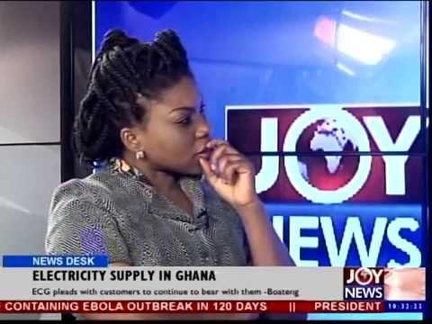 Electricity Supply in Ghana - News Desk (16-10-14)