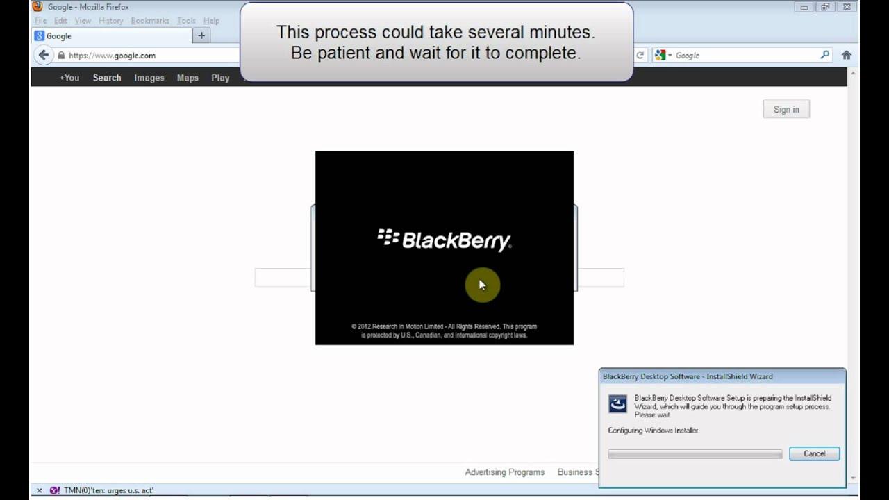 desktop manager blackberry 7290