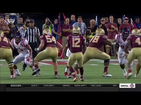 Seminole Moment: Deondre Francois' First Collegiate Touchdown vs. Ole Miss (2016)