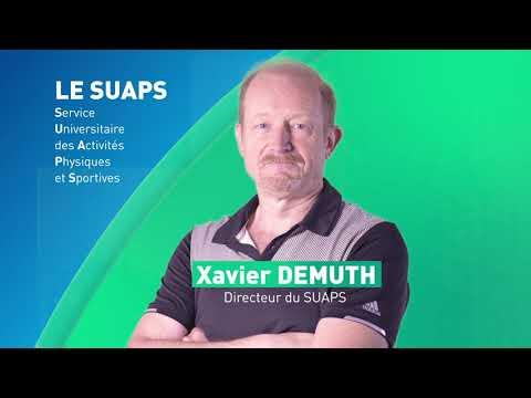 Vidéo Découvrez le SUAPS | Service Universitaire des Activités Physiques et Sportives