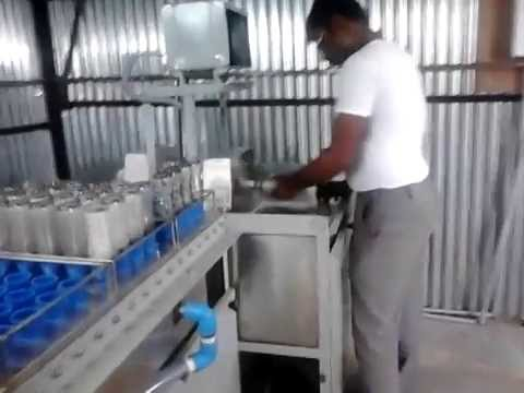 Bottle Washing Machine 2 Head For Soda Bottles Youtube