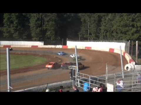4 Cylinder racing at River City Speedway #1 7/7/12 (Heat #1)
