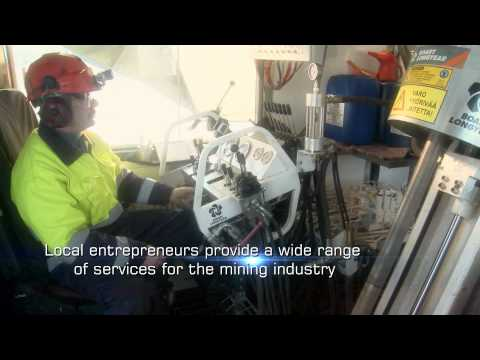 Lapland: Our heart is Gold & Other Minerals - mining industry video. Finland- Lappi kaivos video