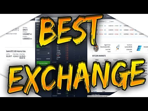 Top Three Bitcoin ($BTC) Exchanges!