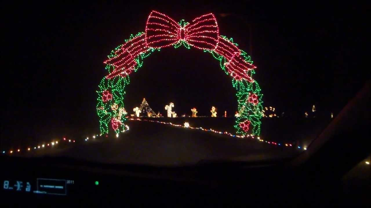 symphony of lights columbia md 2011 youtube