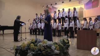 В. Синенко - 1 отделение - концерт для детского хора, чтеца и фортепиано