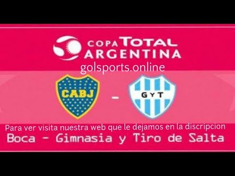 Boca Juniors vs Gimnasia y Tiro en Vivo 14/08/2017
