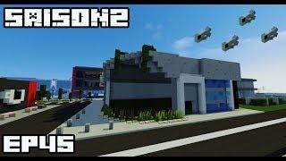 Ville Minecraft S2 |Aquarium ultra moderne| #45