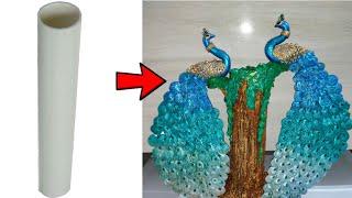 Papermache Peacock || Papermache Work || JS CREATIVE ART||#019