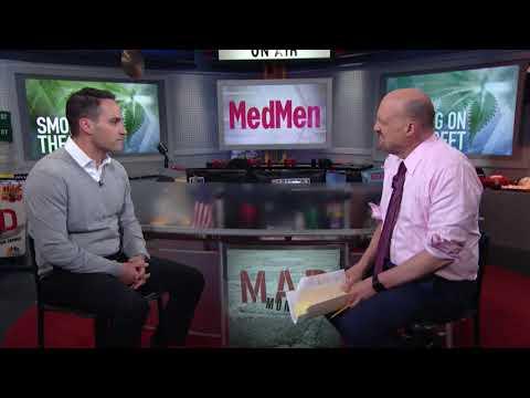 "MedMen CEO: Forget ""Stoner?""   Mad Money   CNBC"