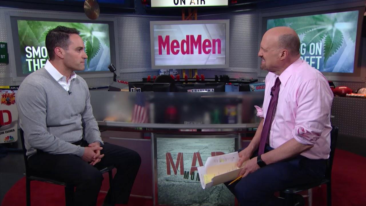 """MedMen CEO: Forget """"Stoner?""""   Mad Money"""