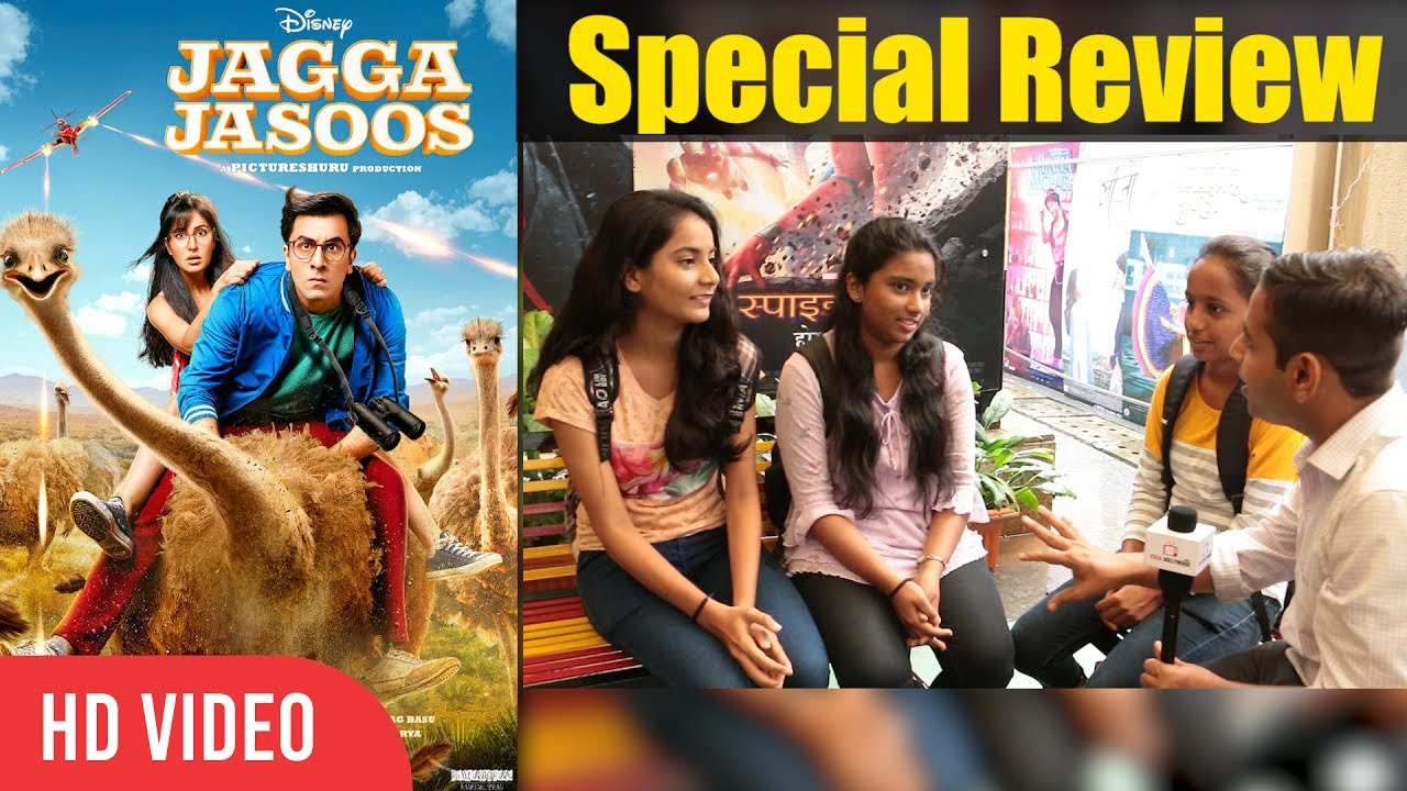 jagga jasoos movie special review college student review on  jagga jasoos movie special review college student review on jagga jasoos ranbir katrina