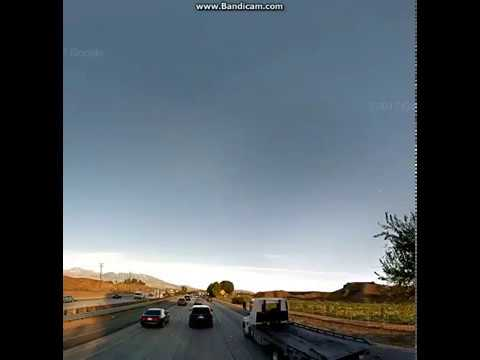 Google Maps Streetview Player: San Bernardino to Palm Springs - YouTube
