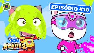 Talking Tom Heroes - Detenha o slime! (Episódio 10)