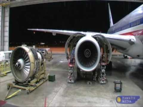 Boeing 777 Engine Change