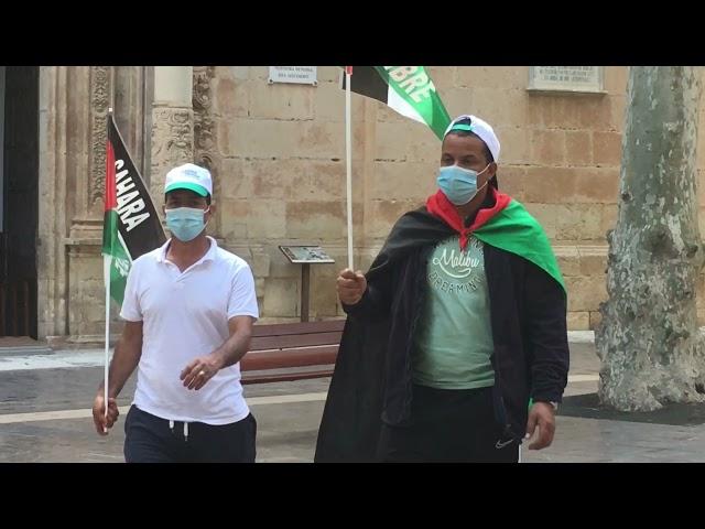 Marcha por el pueblo Saharaui 2021 #Aspe