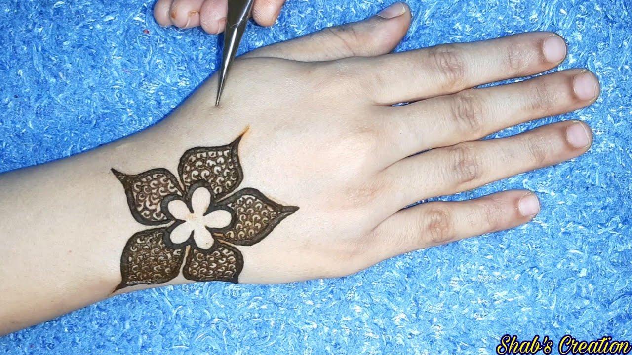 New Stylish Flower Mehndi Design For Hand 2019 Easy Simple Mehendi Designs New Mehandi Design