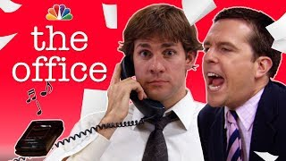 Jim's Cell Phone Prank on Andy - The Office