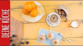 Sila Sahin backt zum 1. Mal - Es gibt: Orangen-Muffins mit Walnüssen | REWE Deine Küche