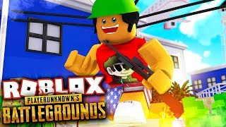 PUBG in Roblox!! - Prison Royale Gameplay