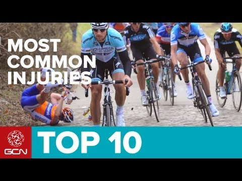 Top 10 Most Common Cycling Injuries