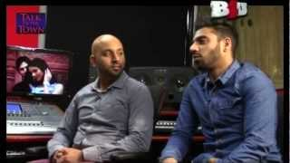 GIN & REES - FIRST LIVE INTERVIEW - B4U MUSIC TALK OF THE TOWN 3RD FEB 2013 INTERVIEW @ RNC STUDIO!