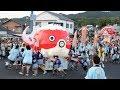 山口)金魚ねぶたにどよめき 柳井で金魚ちょうちん祭り