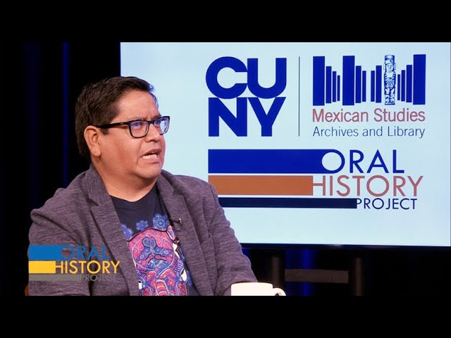 Mexican Studies Oral History Project: Angelo Cabrera (English CC)