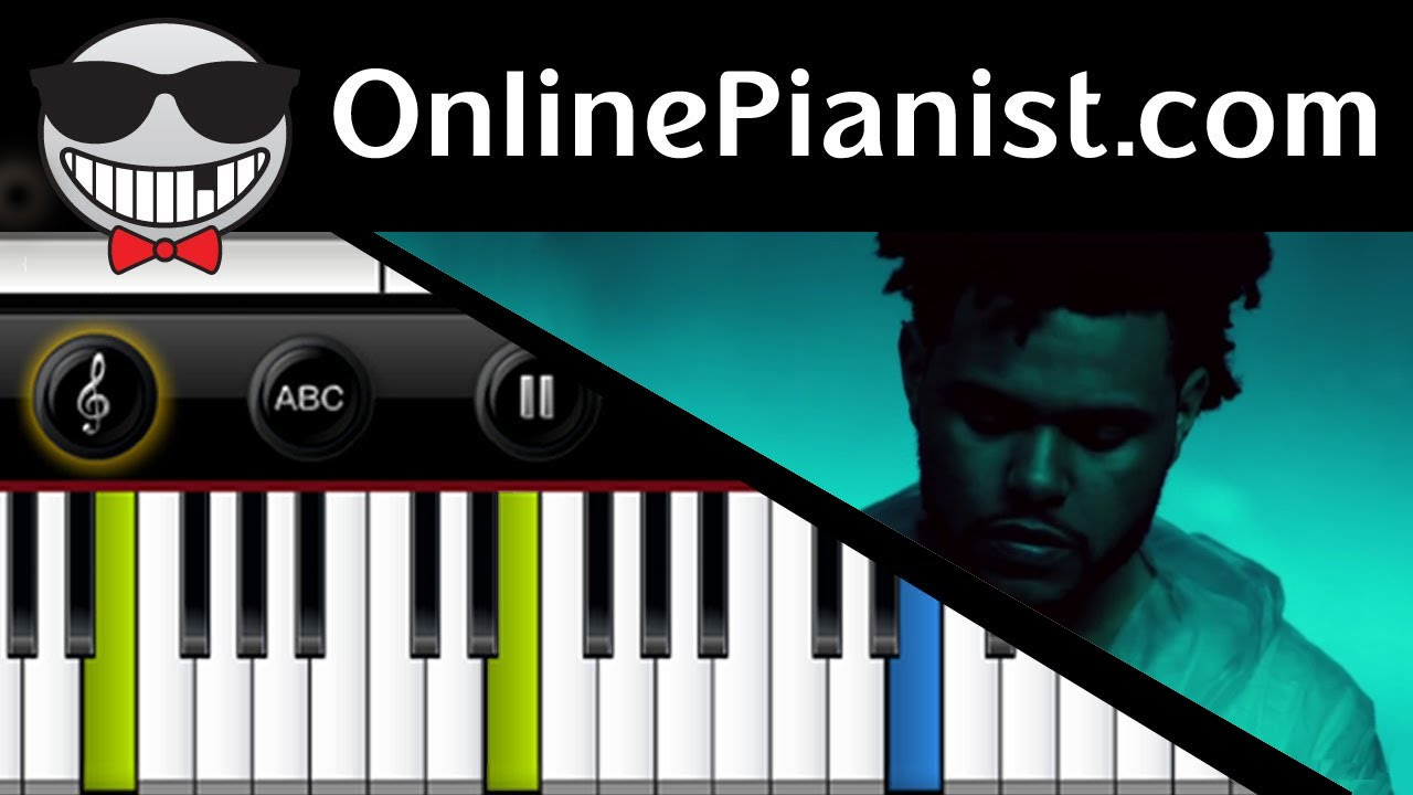 how to play earned it on piano