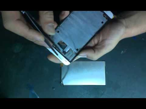 how to put sim card in htc one m7