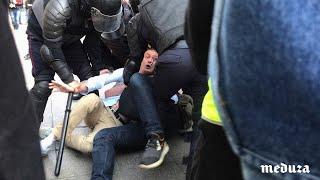 Акция 3 августа в Москве. Сотни задержанных