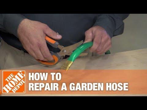 How to Repair a Damaged Garden Hose | The Home Depot