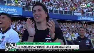 El tranco campeon de Colo Colo desde el 2014