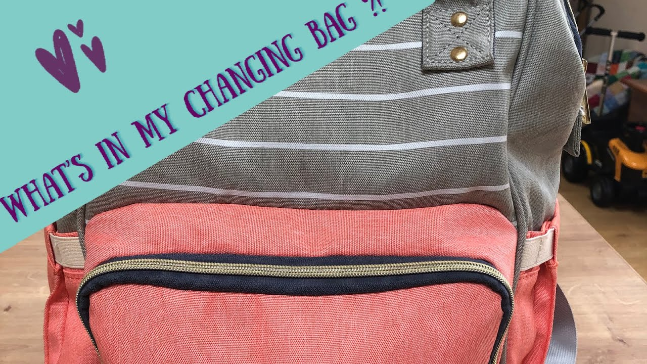 WHAT'S IN MY CHANGING BAG | WHAT'S IN MY DIAPER BAG ...