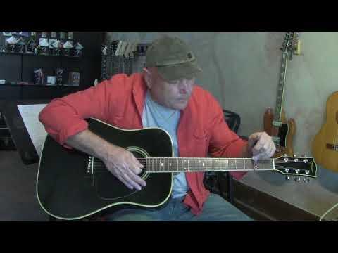 takamine f 341 holy grail acoustic guitar demo