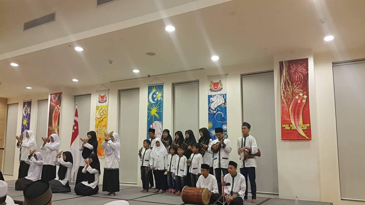 Amal Mulia Children sing 'Kun Anta' Indonesian Version