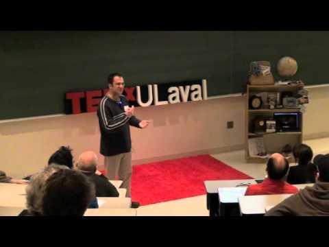 Courir - un antidote a la fatilite: Martin Pelletier at TEDxULAVAL