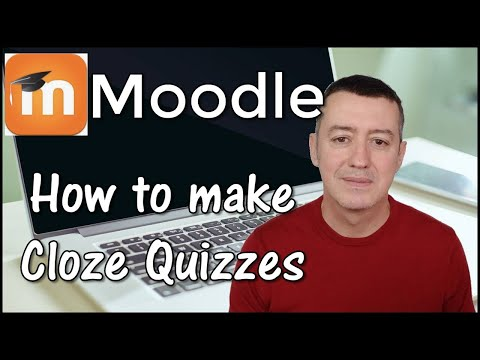 Moodle 2018-Quick & Clear-How to create Cloze Tests - YouTube